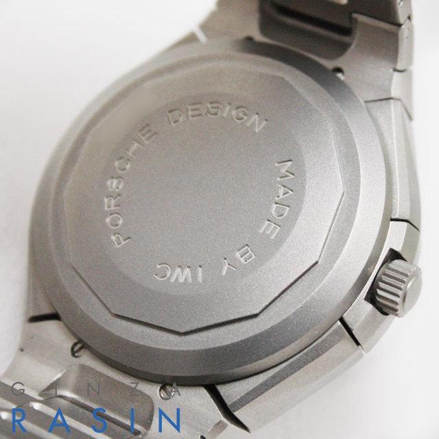 ポルシェデザイン(PORCHE DESIGN by IWC) チタニウムクロノグラフ 3702時計銀座羅針RASIN