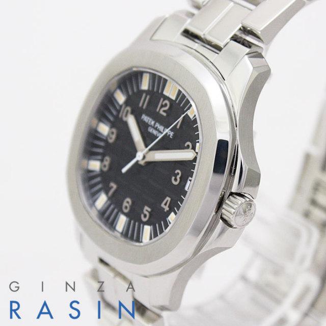 パテックフィリップ(PATEK PHILIPPE) アクアノートラージ 5065A 新品純正SSブレス付 時計銀座羅針RASIN