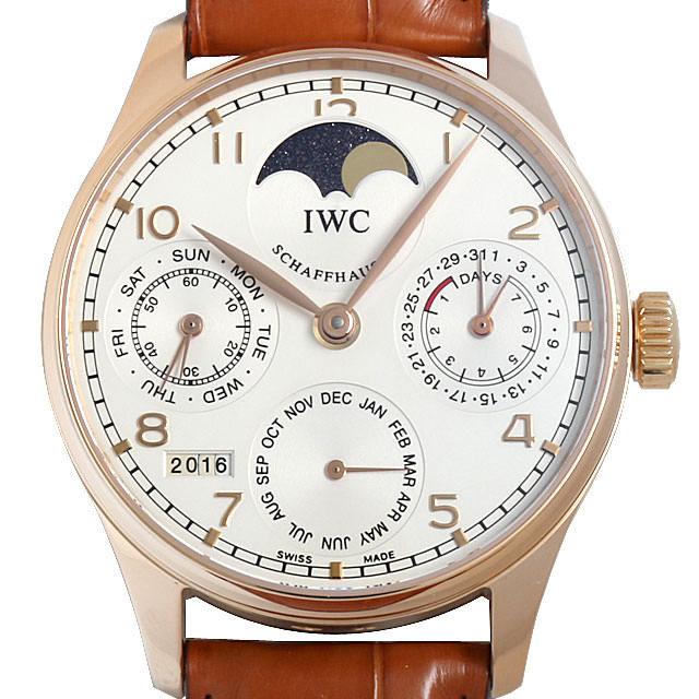 IWC ポルトギーゼ パーペチュアルカレンダー IW502213