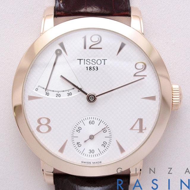 ティソ(TISSOT)スカルプチャー パワーリザーブT71.8.461.34 時計銀座羅針RASIN