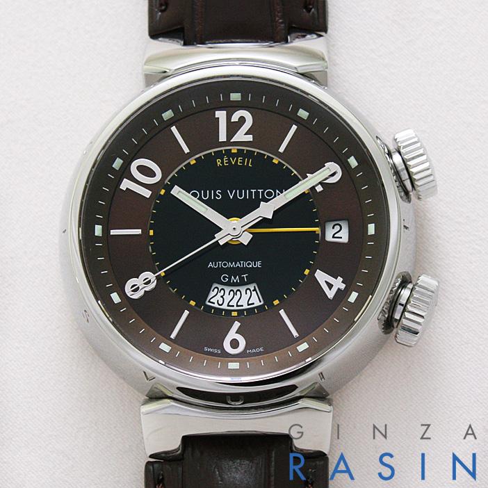 ルイヴィトン タンブール レヴェイユ GMT Q1151 中古 メンズ