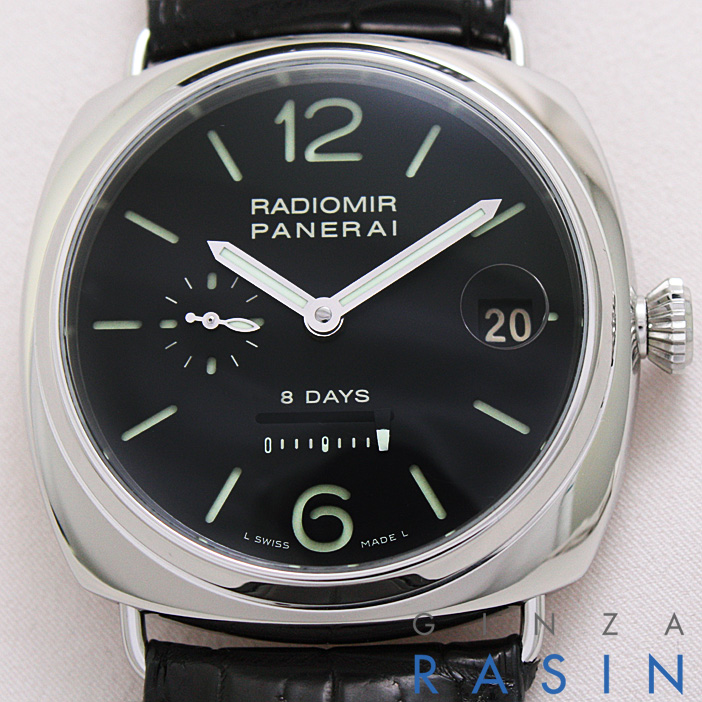 パネライ(PANERAI) ラジオミール8DAYS L番 45mm PAM00268