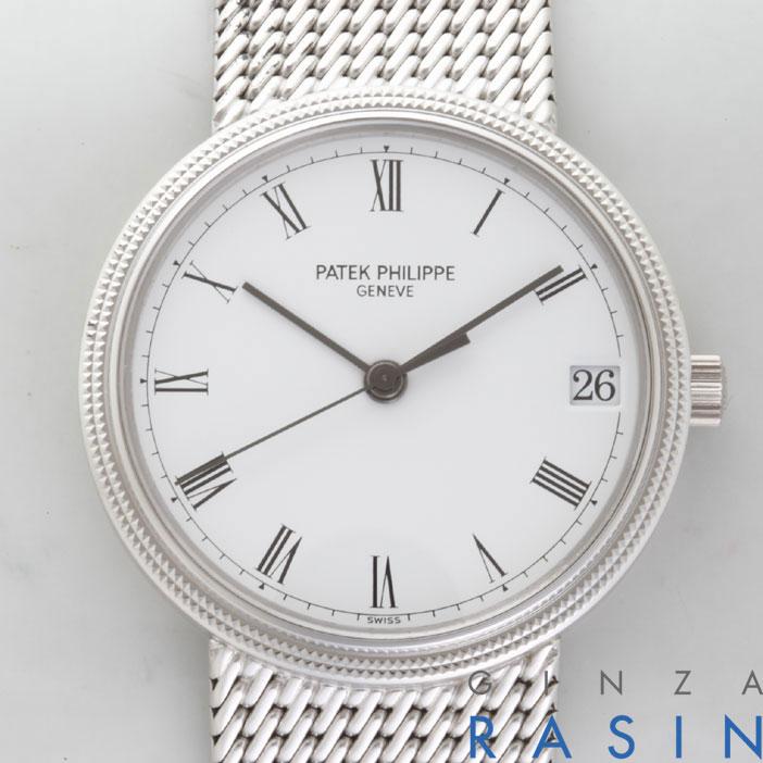 パテックフィリップ(PATEK PHILIPPE)カラトラバ 3802/205G 時計銀座羅針RASIN
