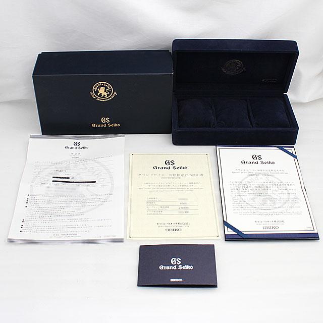 グランドセイコー グランドセイコー メカニカル 50周年記念モデル 限定300本 SBGR075 サブ画像4