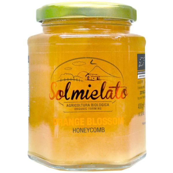 Solmeilato ハチの巣入り オーガニックオレンジ・ブロッサムハニー