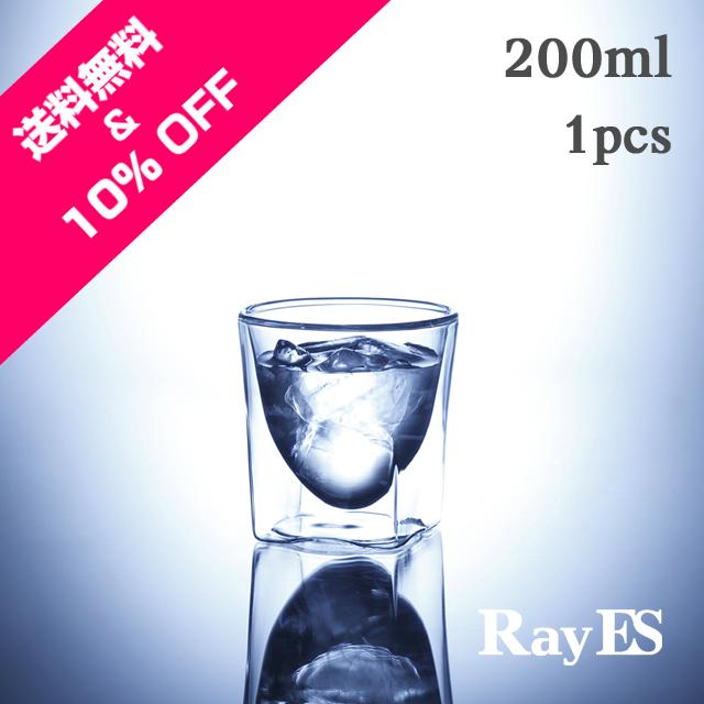 ブルウォールグラスRayESレイエスロックグラス お試し 送料無料 10%offオフ
