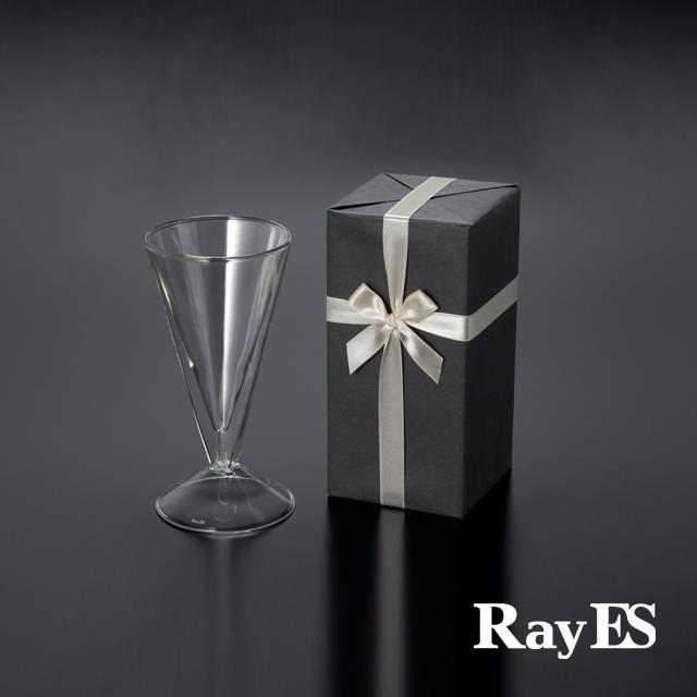 ダブルウォールグラスRayESレイエスのギフト グラス セット ビールグラス