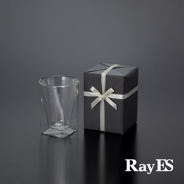 ダブルウォールグラスRayESレイエスのギフト グラス セット ロックグラス