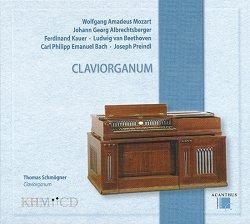 クラヴィオルガヌム〜モーツァルト、ベートーヴェン、アルブレヒツベルガーなどの鍵盤作品集