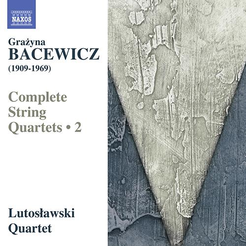 バツェヴィチ/弦楽四重奏曲全集2−第2番, 第4番, 第5番