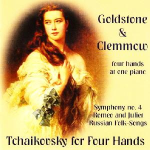 チャイコフスキー/交響曲第4番、ロメオとジュリエット、16のロシア民謡(ピアノ連弾版)