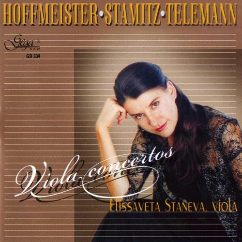 ホフマイスター、シュターミッツ、テレマン/ヴィオラ協奏曲