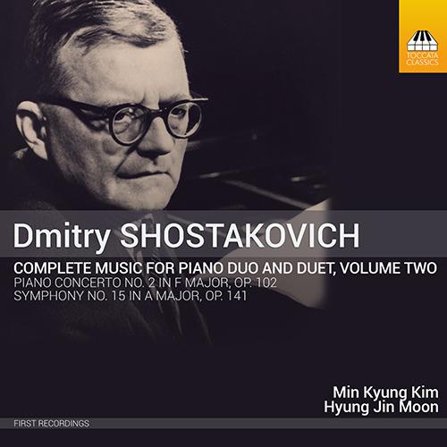 ショスタコーヴィチ/2台&4手のためのピアノ作品全集 第2集