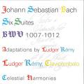 J・S・バッハ/無伴奏チェロ組曲全曲(チェンバロ独奏版,2CD)