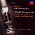 アルビノーニ/5声の協奏曲集 Op.9(全12曲,2CD)