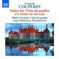 F・クープラン/ヴィオラ・ダ・ガンバのための組曲