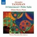タンスマン/24の間奏曲、小組曲、即興的ワルツ