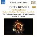 ヨハン・デ・メイ/交響曲第1番「指輪物語」,第2番「ビッグアップル」,第3番「プラネット・アース」(2CD)