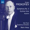 プロコフィエフ/交響曲第3番、スキタイ組曲、交響的スケッチ「秋」