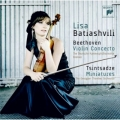 ベートーヴェン/ヴァイオリン協奏曲、ツィンツァーゼ/6つの小品