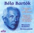 バルトーク/管弦楽のための協奏曲,弦楽器、打楽器とチェレスタのための音楽