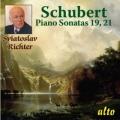 シューベルト/ピアノ・ソナタ第19番,第21番
