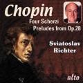 ショパン/4つのスケルツォ、24の前奏曲(抜粋13曲)