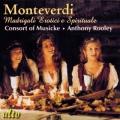 モンテヴェルディ/恋愛詩と宗教詩によるマドリガーレ集