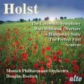 ホルスト/交響曲ヘ長調「コッツウォルズ丘陵」、管弦楽曲集