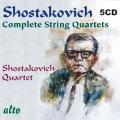 ショスタコーヴィチ/弦楽四重奏曲全集(5CD)