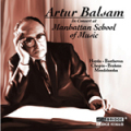 バルザムの「マンハッタン音楽院でのライヴ録音集」(2CD)