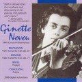 「ジネット・ヌヴー/コンサート・パフォーマンス」〜ヴァイオリン協奏曲集(2CD)