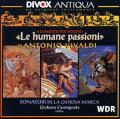 ヴィヴァルディ/人間的情熱(ヴァイオリンのための5つの協奏曲)