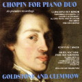 「ピアノ・デュオのためのショパン」〜ピアノ協奏曲第2番(2台ピアノ版)ほか