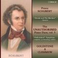 シューベルト/弦楽四重奏曲第14番「死と乙女」、交響曲第8番「未完成」(ピアノ連弾版)
