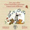 チェザリーニ、アモス/朗読と管楽五重奏のための音楽童話集