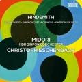ヒンデミット/ウェーバーの主題による交響的変容、ヴァイオリン協奏曲、ほか