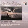 ショパン/ピアノ協奏曲第1,2番(ピアノと弦楽四重奏による版)