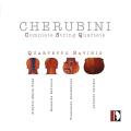 ケルビーニ(1760-1842)/弦楽四重奏曲全集(2CD)