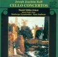 ラフ/チェロ協奏曲第1番、第2番、小曲集「出会い」、チェロとピアノの二重奏曲