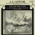 ルフェーヴル/クラリネット四重奏曲集(第1〜4番)