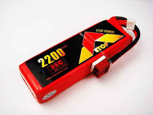 Lipo 3S-2200mAh(35C) E−Top Power