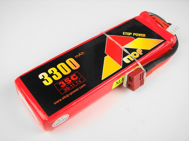 Lipo 3S-3300mAh(35C) E−Top Power