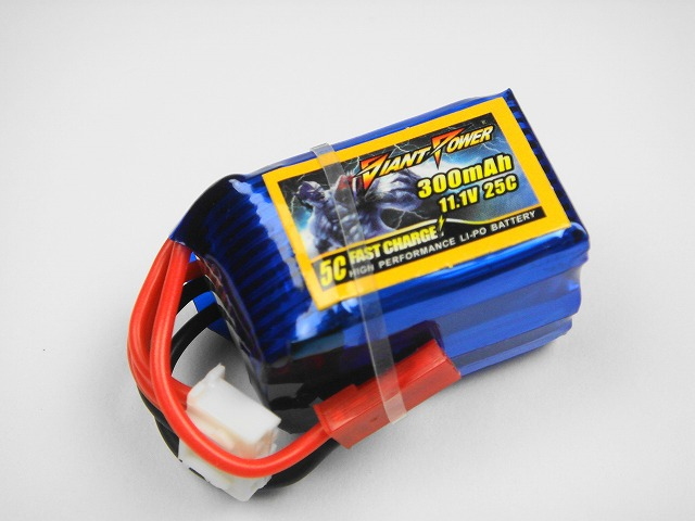 Lipo 3Sー300mAh(25C)−Giant Power