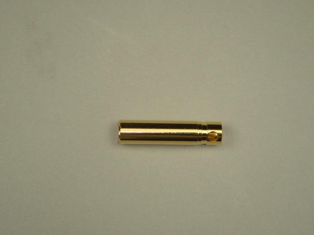 4mmゴールドコネクター(メス)