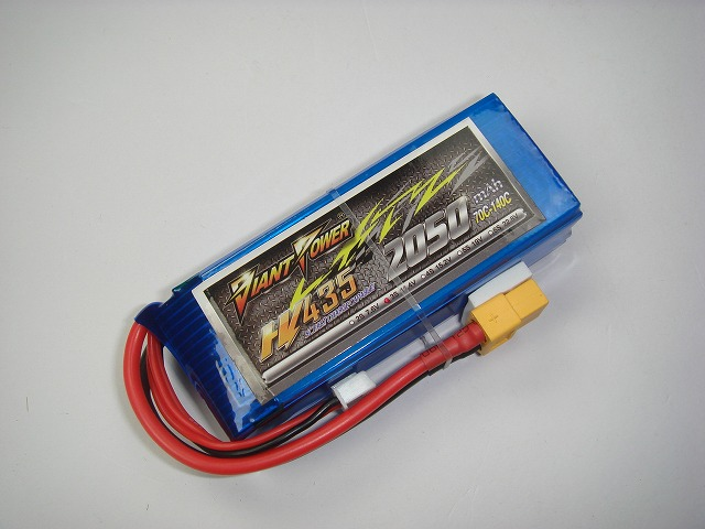 Hi-Voltage LiPo 3S(11.4)-2050mAh(70C)