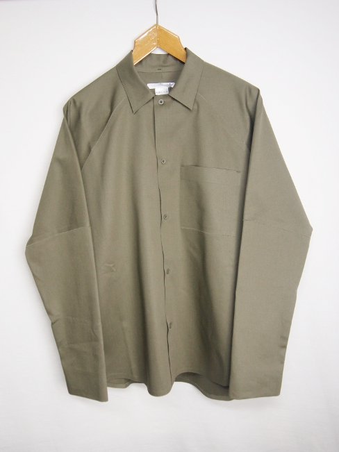 【FINALSALE 40%OFF!!1月31日(水)まで!!】←【30%OFF!!!】←[送料無料]BARBARA ALAN/DRILL SHIRT. [SRT 5230 TC016][41-172-0001]