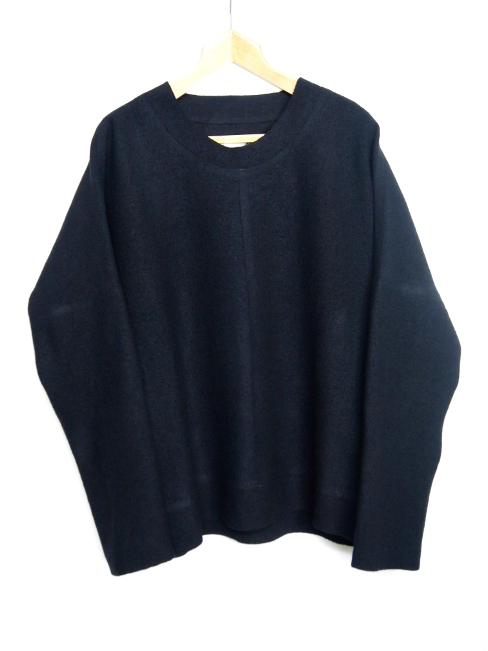 ≪New Arrival≫[送料無料]BARBARA ALAN/FELTED CREW SWEATER. [TOP 5244 TJ021][46-172-0001]