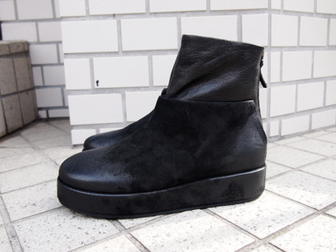 ≪New Arrival≫[送料無料]Marsell/マルセル/Zip Boots.[MW4609] [35-172-0002]