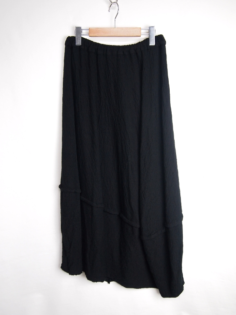 【FINALSALE 40%OFF!!1月31日(水)まで!!】←【30%OFF!!!】←[送料無料]FORME D' EXPRESSION/WOOL JERSEY SPHERED SKIRT.  [33-172-0004]